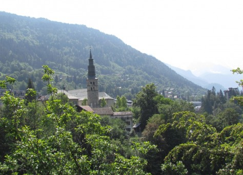 Clocher église Saint-Gervais-les-Bains