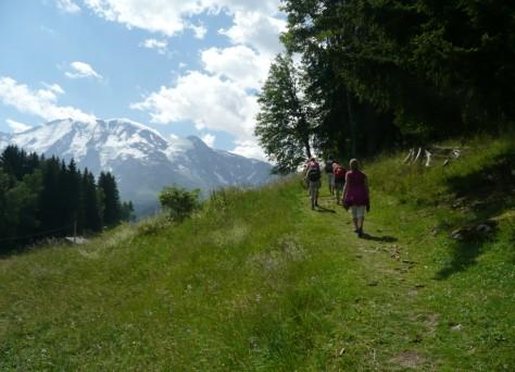 Montagne l'été Saint-Gervais-les-Bains